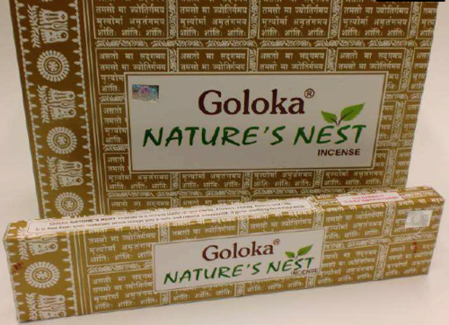 Incienso Goloka Nature´s Nest
