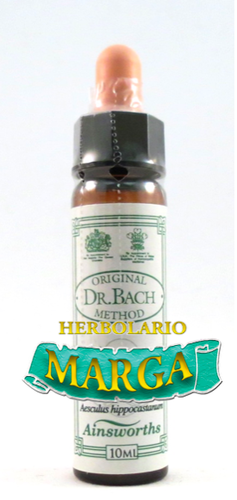 Flores de Bach 10ml. Remedio rescate -Ainsworth