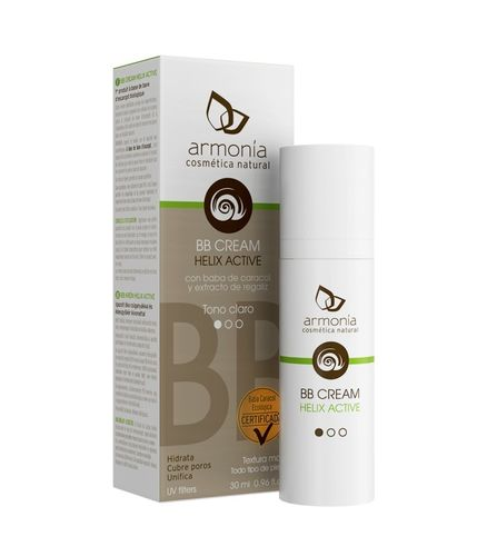 BB Cream helix Active 30ml Color medio - Armonia Bio